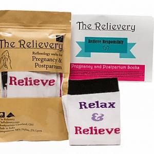 Body Atlas Reflexology Acupressure Socks for Pregnancy and Postpartum