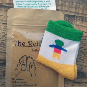 Body Atlas Reflexology Acupressure Socks for Baby