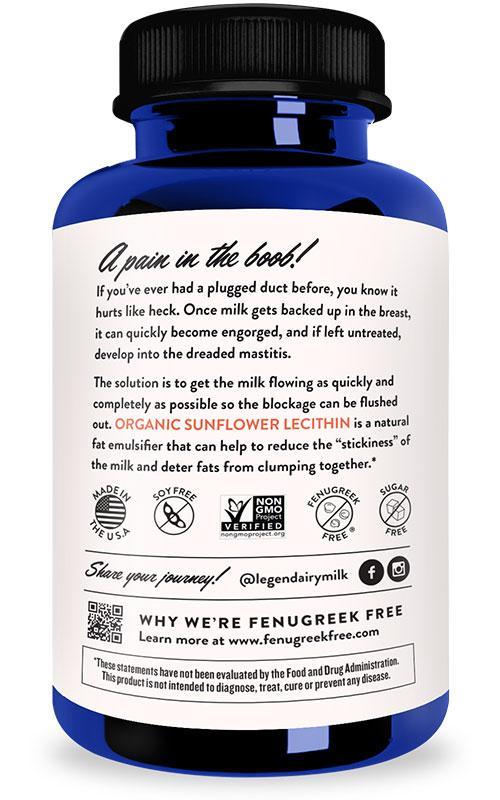 Organic Sunflower Lecithin Legendairy Milk